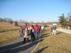 Aprendiendo la historia de Valley Forge Pennsylvania. Vida en PA